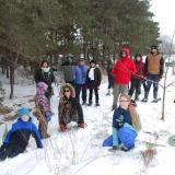 Snow Shoe hike, Stratford Perth Museum trails