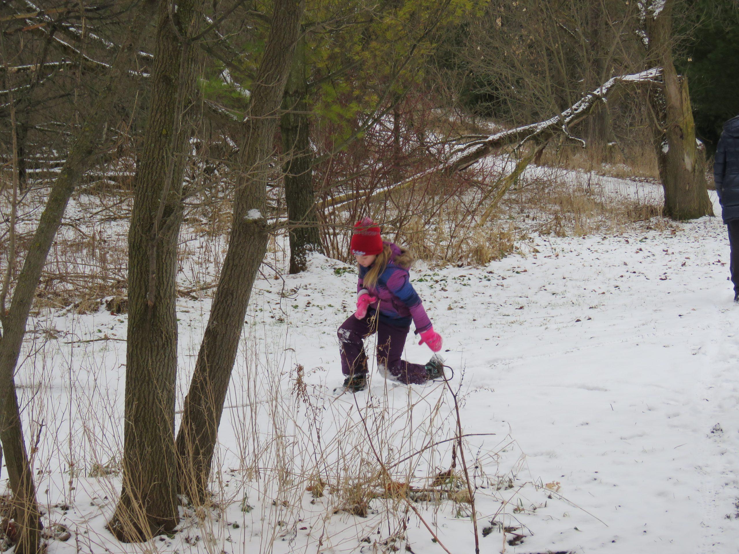 Snow is always fun