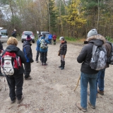 Hikers anxious to get going