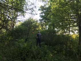 Day2-1-Sandhills-Trail-Ron-clearing-ATV-track