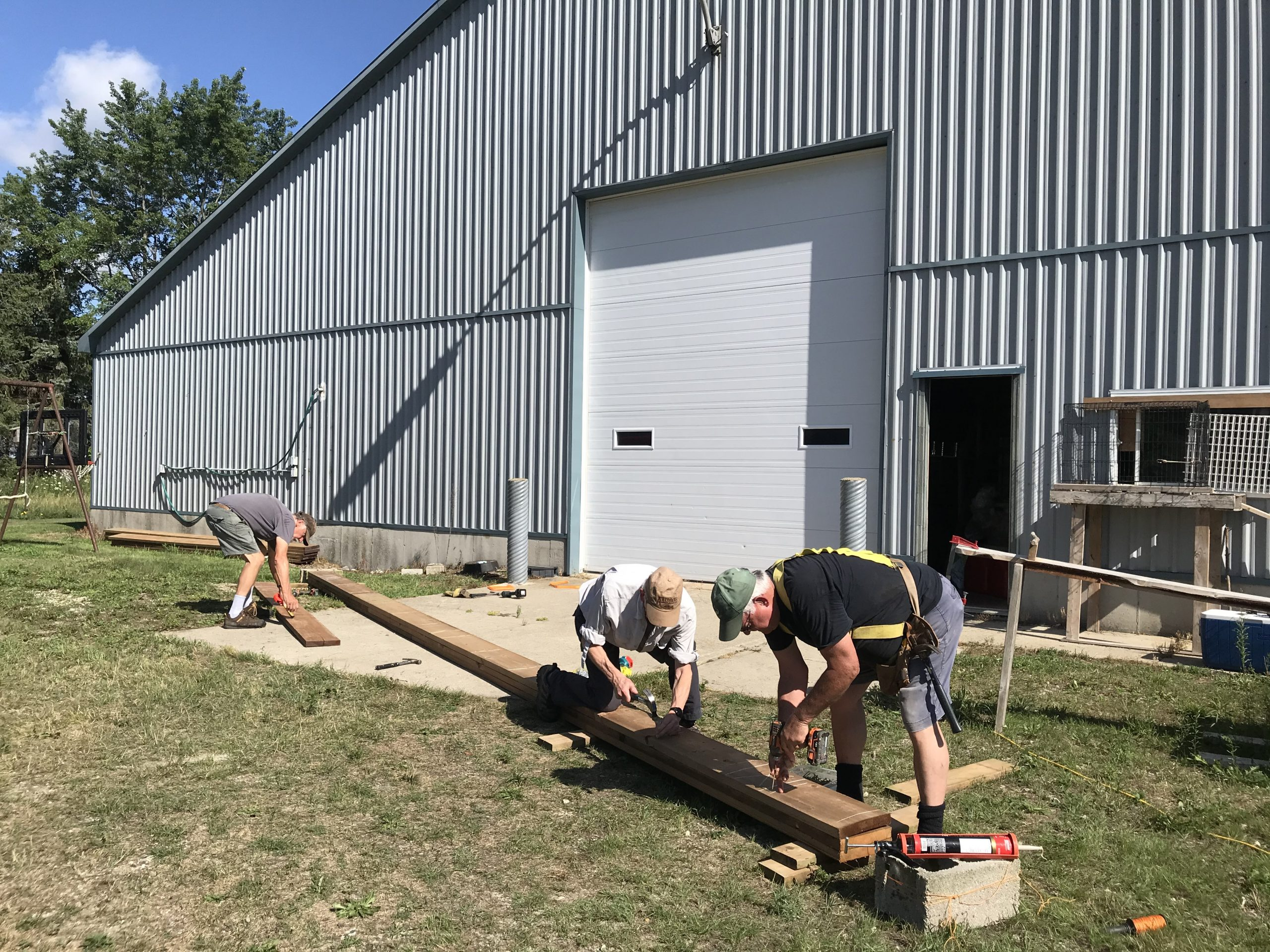 3 -  layering the planks