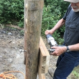 Tues July 21 - Drilling with Ted