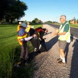 Led by Brian Tarr, Avon Trail Members picked up litter along 3 KM of Highway 7/8 on Monday, June 11.