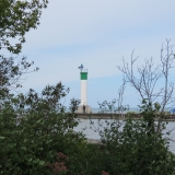 Lighthouse on Grand bend pier