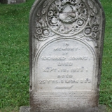 One of many interesting tombstones in Avondale Cemetery